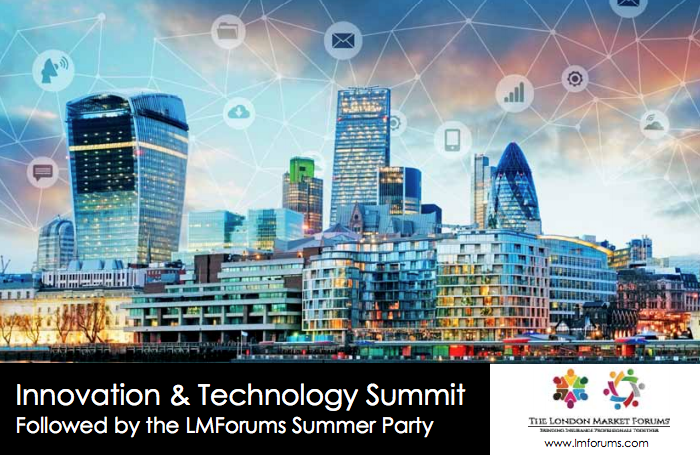London market forums technology and innovation summit for Innovation consultancy london
